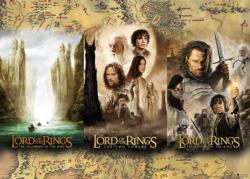 Lord of the Rings Triptych Movies / Books / TV Jigsaw Puzzle