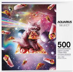 Cat Pizza Food and Drink Jigsaw Puzzle