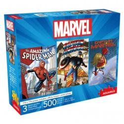 Marvel 500pc x 3 Super-heroes Multi-Pack