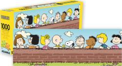 Peanuts Cartoons Panoramic Puzzle