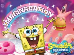 SpongeBob Square Pants Imagination Movies / Books / TV Jigsaw Puzzle