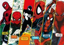 Spider-Man Timeline Super-heroes Jigsaw Puzzle
