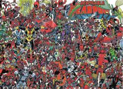 Deadpool Super-heroes Jigsaw Puzzle
