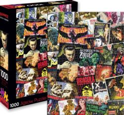 Hammer Horror Classic Collage Movies / Books / TV Jigsaw Puzzle