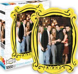 Friends Water Fountain Diecut Movies / Books / TV Jigsaw Puzzle