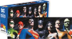 DC Comics Justice League Super-heroes Panoramic Puzzle