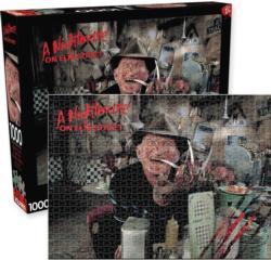 A Nightmare On Elm Street Movies / Books / TV Jigsaw Puzzle