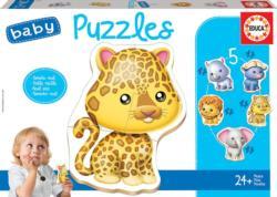 Baby Puzzle - Wild Animals Jungle Animals Multi-Pack