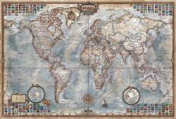 The World Executive Map Maps / Geography Impossible Puzzle