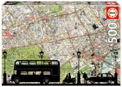 Rush Hour Maps Jigsaw Puzzle