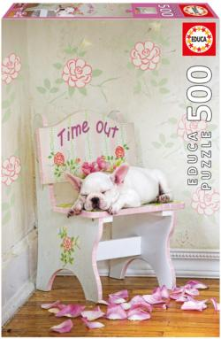 Taking Time Out, Lisa Jane Dogs Jigsaw Puzzle