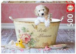 Belle Maison, Lisa Jane Flowers Jigsaw Puzzle