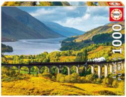 Glenfinnan Viaduct, Scotland Europe Jigsaw Puzzle
