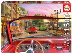 Paris In A Car Paris Jigsaw Puzzle