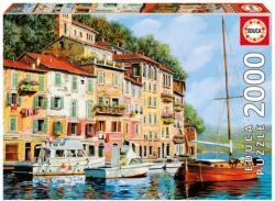La Barca Rossa Alla Calata Seascape / Coastal Living Jigsaw Puzzle