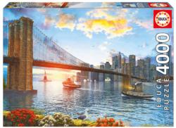 Brooklyn Bridge Skyline / Cityscape Jigsaw Puzzle