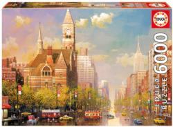 New York Afternoon Nostalgic / Retro Jigsaw Puzzle