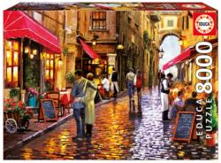 Café Street European Scene High Difficulty Puzzle