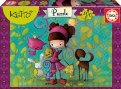 Marika Cartoons Children's Puzzles