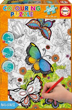 All Good Things Are Wild And Free Collage Coloring Puzzle