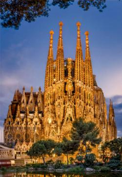 Sagrada Familia Churches Jigsaw Puzzle