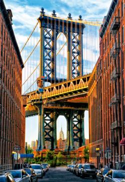 Manhattan Bridge, New York Bridges Jigsaw Puzzle