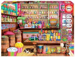 The Candy Shop Shopping Jigsaw Puzzle