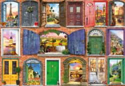 Doors Of Europe Doors Jigsaw Puzzle