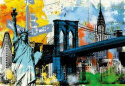 Urban Liberty New York Jigsaw Puzzle