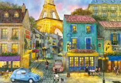 Paris Streets Paris Jigsaw Puzzle