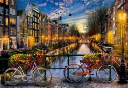 Amsterdam With Love Amsterdam Jigsaw Puzzle