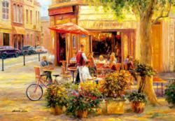 Corner Café Europe Jigsaw Puzzle