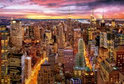 Manhattan Skyline New York Jigsaw Puzzle