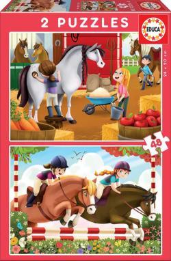 Horse Grooming Horses Multi-Pack