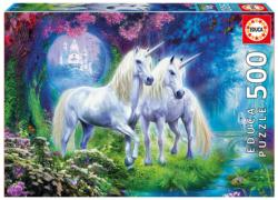 Unicorns in the Forest Unicorns Jigsaw Puzzle