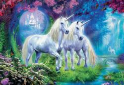 Unicorns in the Forest Unicorns Jigsaw Puzzle
