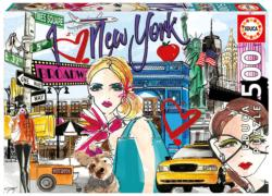 Take Me to New York New York Jigsaw Puzzle