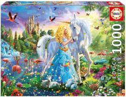 The Princess and the Unicorn Unicorns Jigsaw Puzzle
