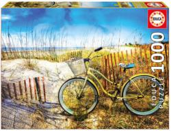 Bike in the Dunes Vehicles Jigsaw Puzzle