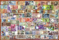 World Banknotes Currency Jigsaw Puzzle