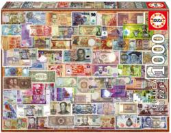 World Banknotes Everyday Objects Jigsaw Puzzle