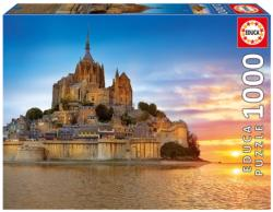 Mont Saint Michel, France Churches Jigsaw Puzzle