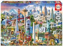 North America Landmarks Landmarks / Monuments Jigsaw Puzzle
