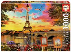 Sunset in Paris Paris High Difficulty Puzzle