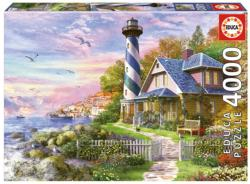 Lighthouse at Rock Bay Lighthouses High Difficulty Puzzle