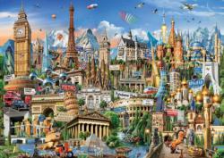 Europe Landmarks Europe Jigsaw Puzzle