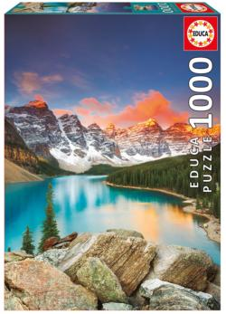 Moraine Lake, Banff Lakes / Rivers / Streams Jigsaw Puzzle