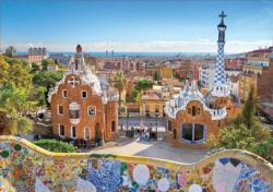 Barcelona View From Park Guell Spain Jigsaw Puzzle