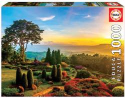 Beautiful Garden Sunrise / Sunset Jigsaw Puzzle