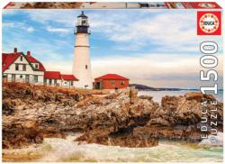 Rocky Lighthouse - Scratch and Dent Lighthouses Jigsaw Puzzle